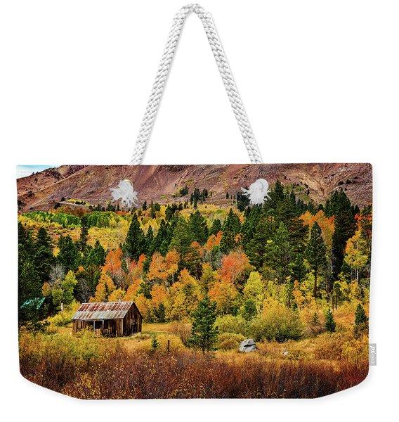 Old Cabin In Hope Valley Weekender Tote Bag