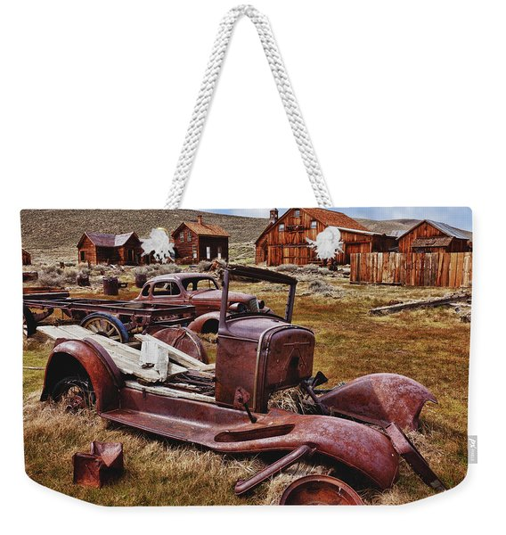 Old Cars Bodie Weekender Tote Bag