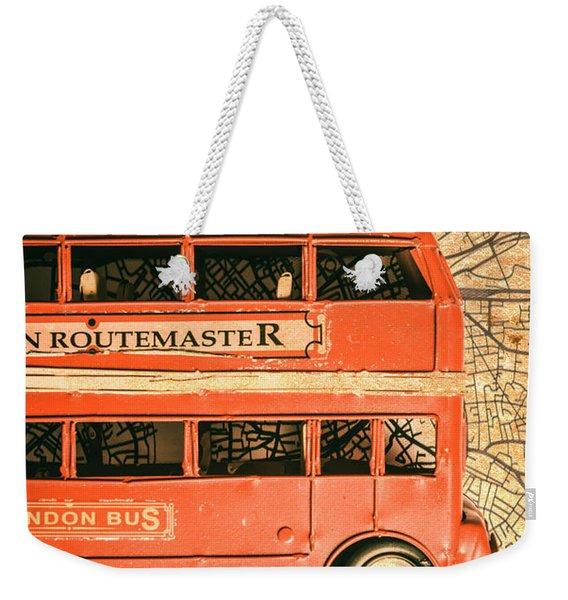 Old City Transit Weekender Tote Bag