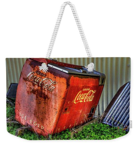 Old Coke Box Weekender Tote Bag