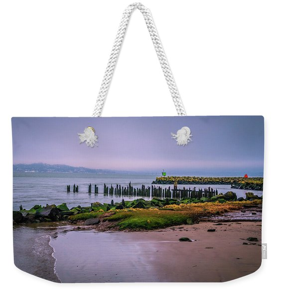 Old Columbia River Docks Weekender Tote Bag