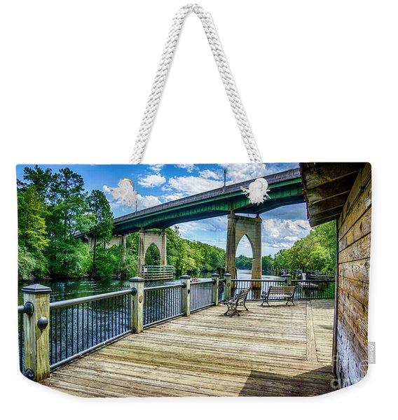 Old Conway Bridge Weekender Tote Bag