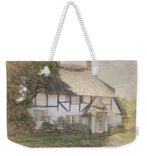 Old Cottage, Micheldever Weekender Tote Bag