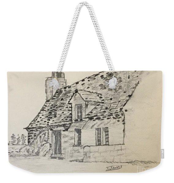 Old Cottage Weekender Tote Bag