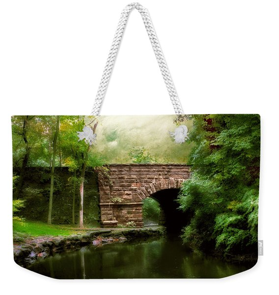 Old Country Bridge Weekender Tote Bag