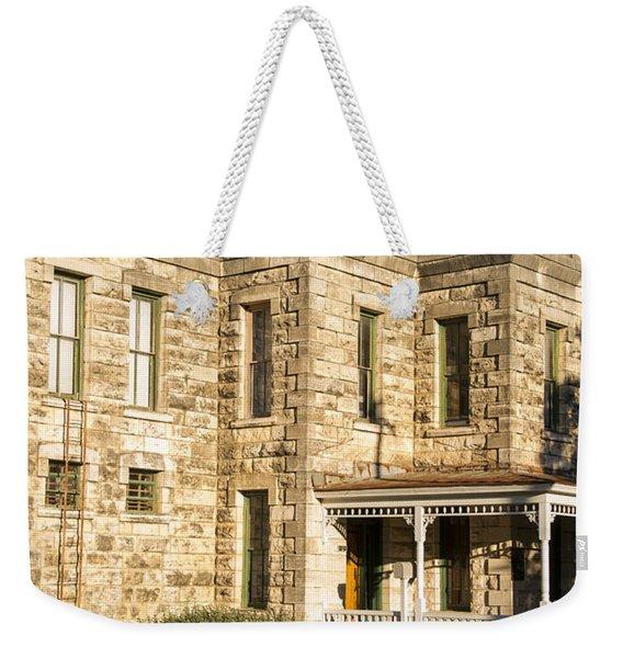 Old County Jail Weekender Tote Bag