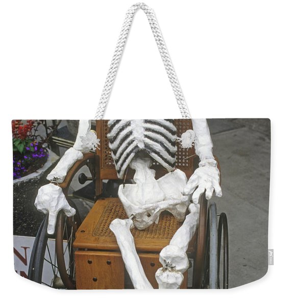 Weekender Tote Bag featuring the photograph Old Deadheads Never Die by Frank DiMarco