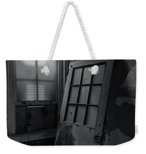 Old Door Weekender Tote Bag