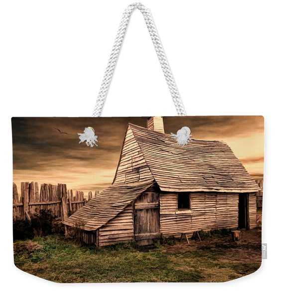 Old English Barn Weekender Tote Bag