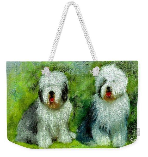 Old English Sheepdog Weekender Tote Bag