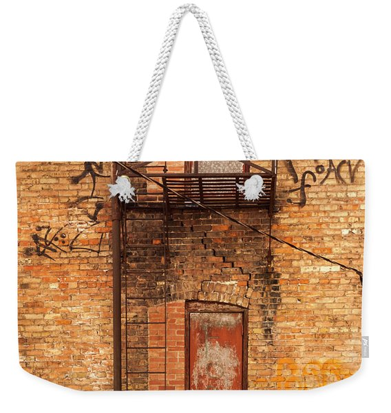 Old Escape Weekender Tote Bag