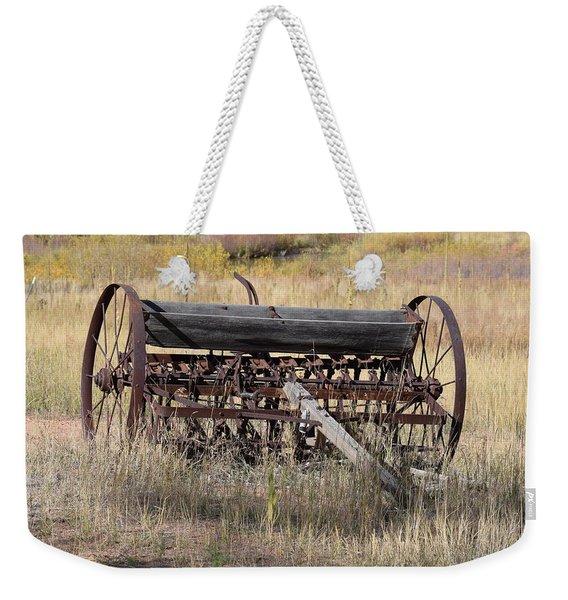Farm Implament Westcliffe Co Weekender Tote Bag