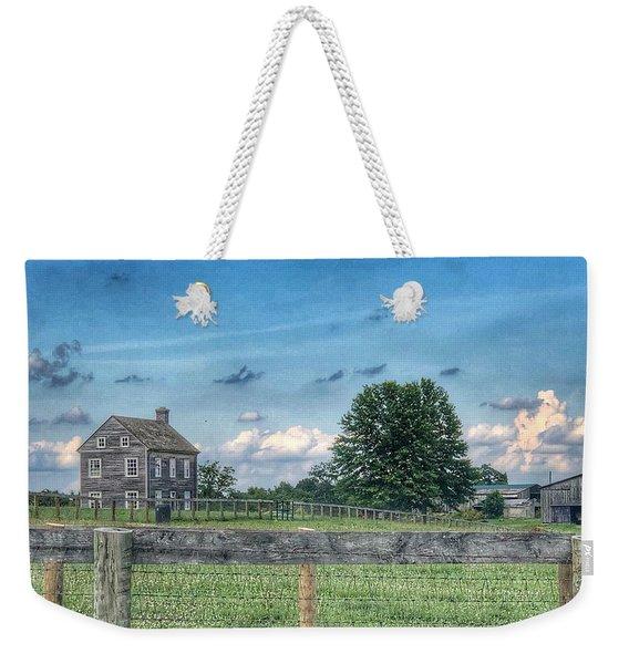 Old Farmhouse Weekender Tote Bag