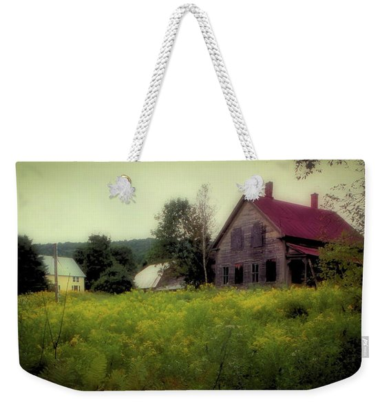 Old Farmhouse - Woodstock, Vermont Weekender Tote Bag