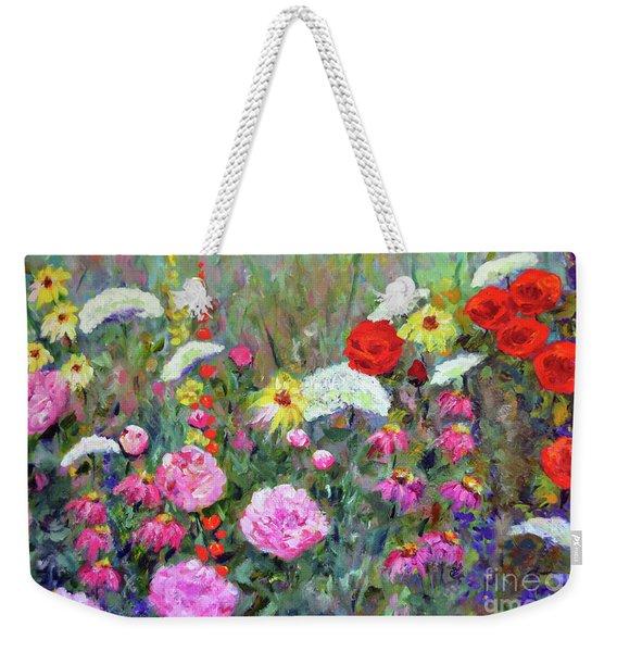 Old Fashioned Garden Weekender Tote Bag