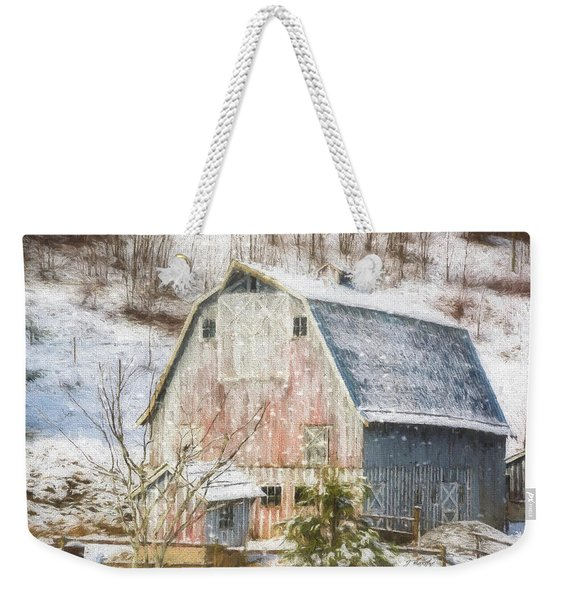 Old Fashioned Values - Country Art Weekender Tote Bag