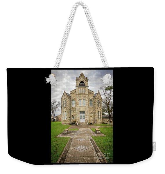 Old Fayatte County Jail Weekender Tote Bag