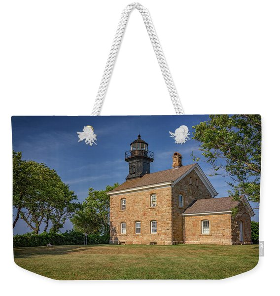 Old Field Point Lighthouse Weekender Tote Bag