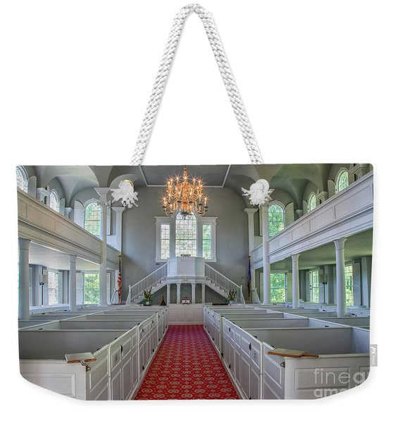 Old First Church Interior Weekender Tote Bag