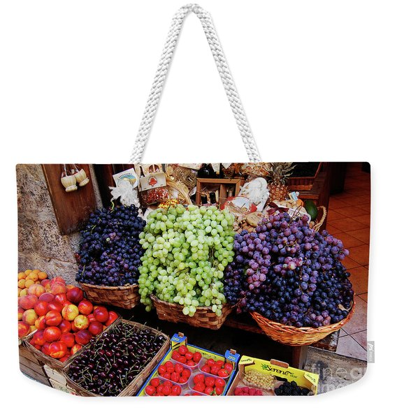 Old Fruit Store Weekender Tote Bag