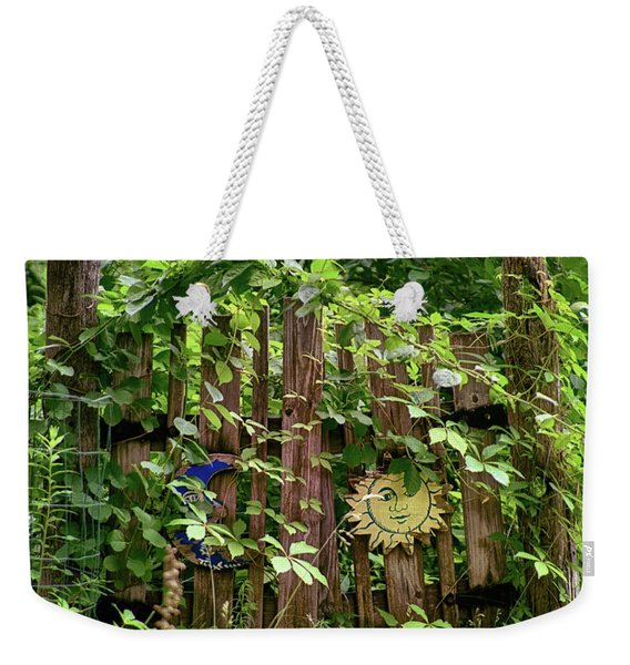 Old Garden Gate Weekender Tote Bag