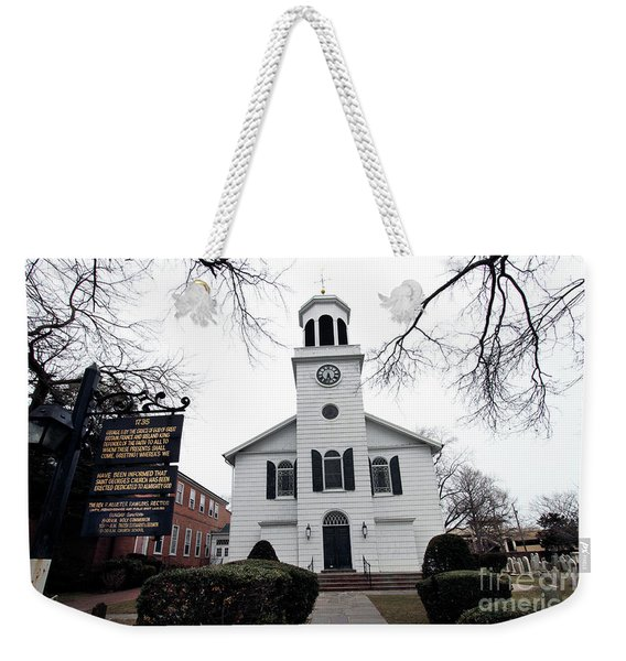 St. Georges Church Episcopal Anglican Weekender Tote Bag