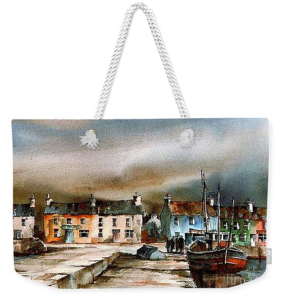Old Harbour Dingle, Kerry Weekender Tote Bag