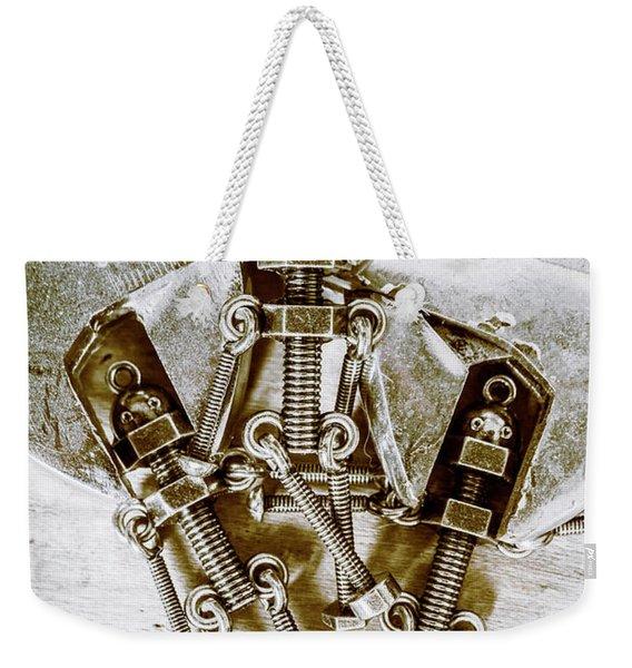 Old Hardware Upgrade Weekender Tote Bag