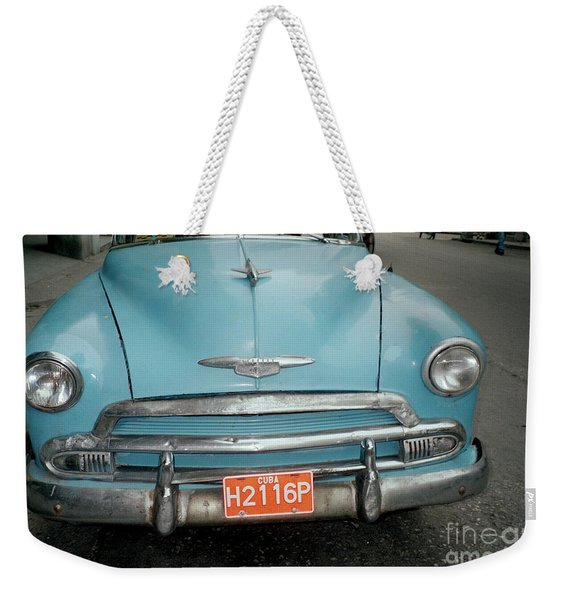 Old Havana Cab Weekender Tote Bag
