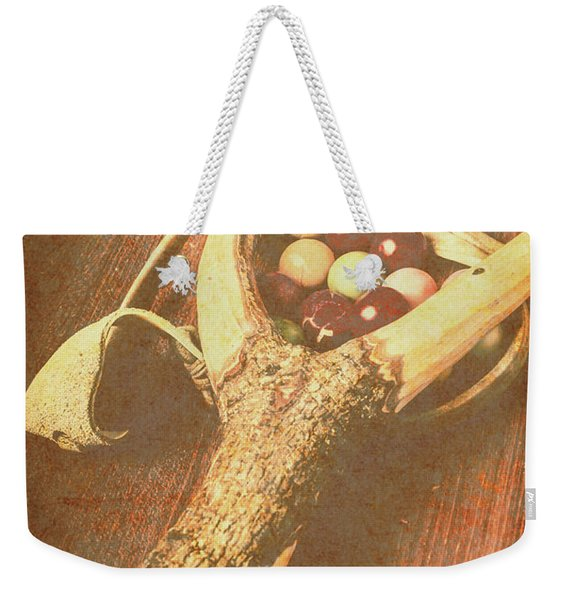 Old Hit Of Confectionery Weekender Tote Bag