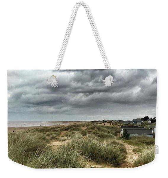 Old Hunstanton Beach, North #norfolk Weekender Tote Bag