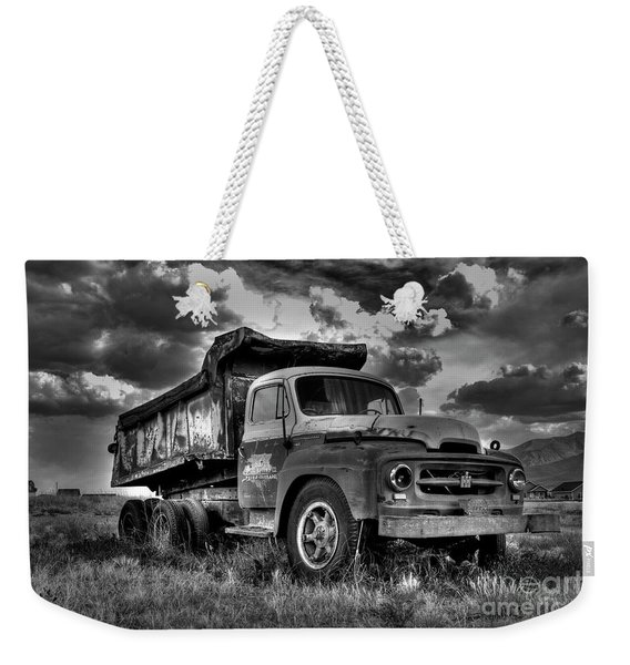 Old International #2 - Bw Weekender Tote Bag