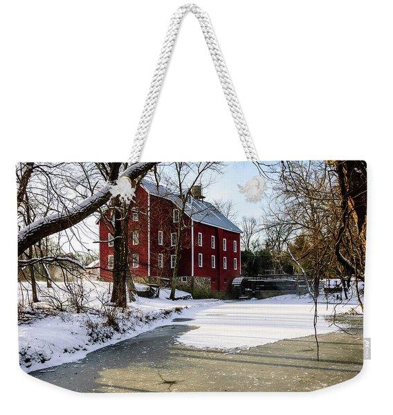 Old Kirbys Mill Weekender Tote Bag