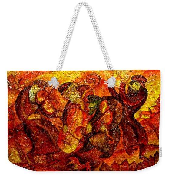 Old Klezmer Band Weekender Tote Bag