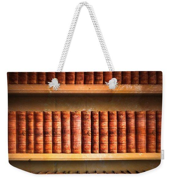 Old Library Weekender Tote Bag