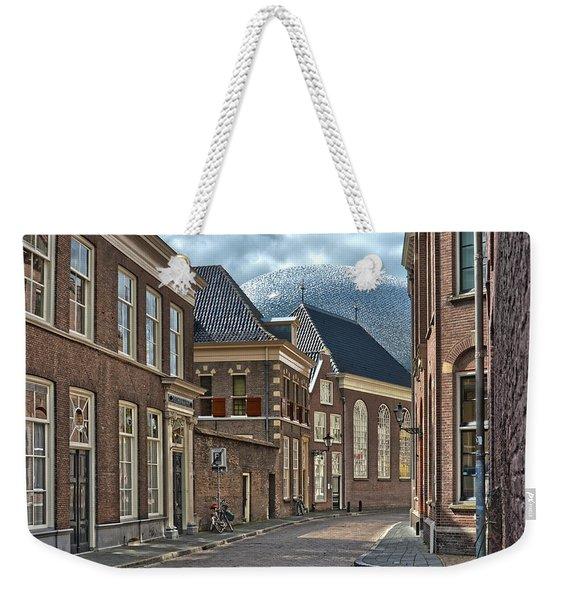 Old Meets New In Zwolle Weekender Tote Bag