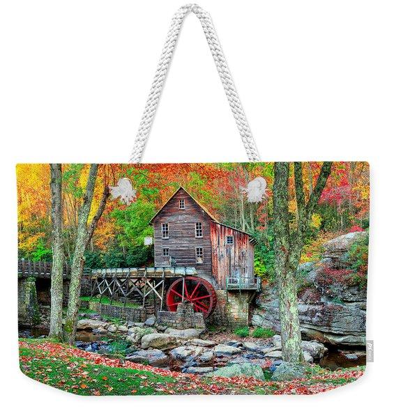 Old Mill Weekender Tote Bag