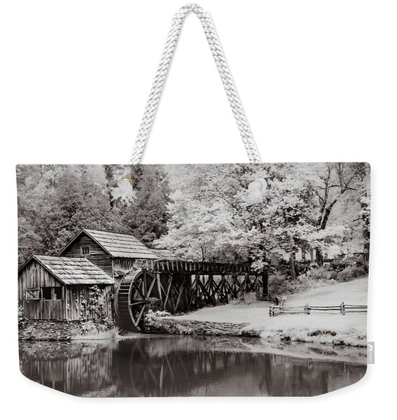 Old Mill On The Mountain Weekender Tote Bag