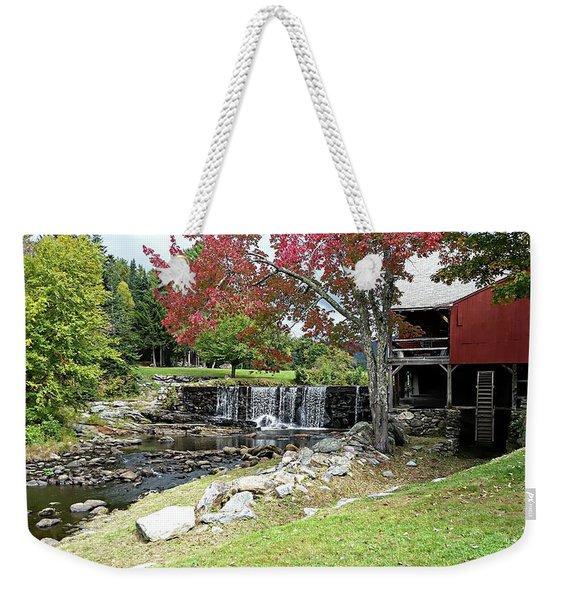 Old Mill - Weston, Vermont Weekender Tote Bag