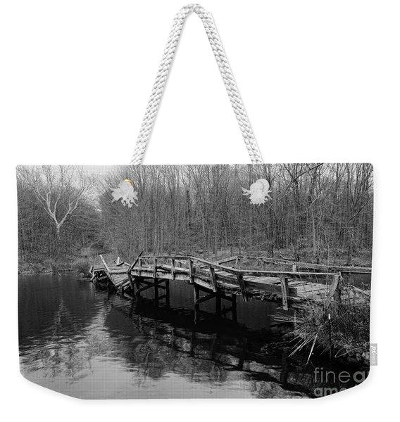 Old Mule Bridge Weekender Tote Bag
