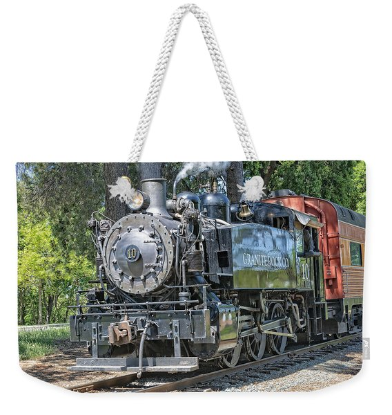 Weekender Tote Bag featuring the photograph Old Number 10 by Jim Thompson