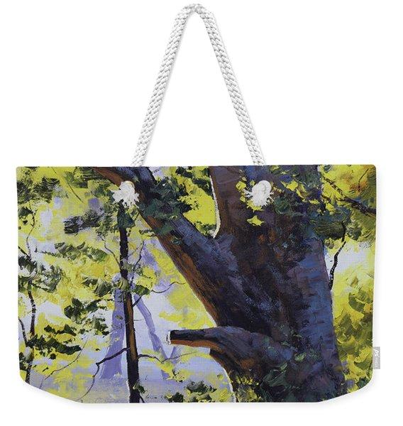 Old Oak Tree Weekender Tote Bag