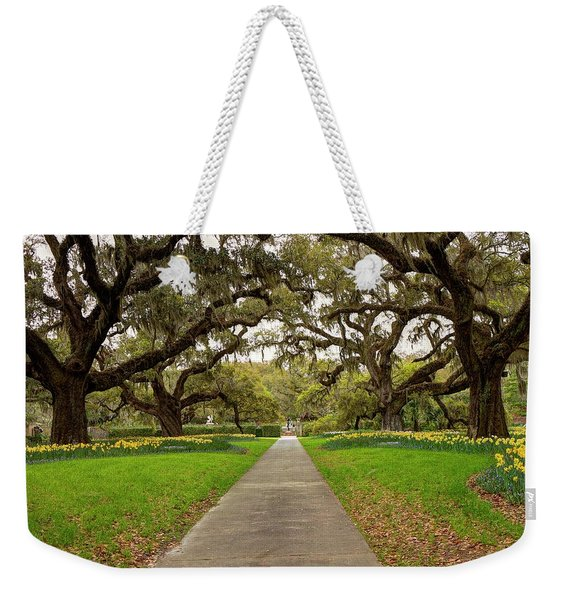 Old Oaks Weekender Tote Bag