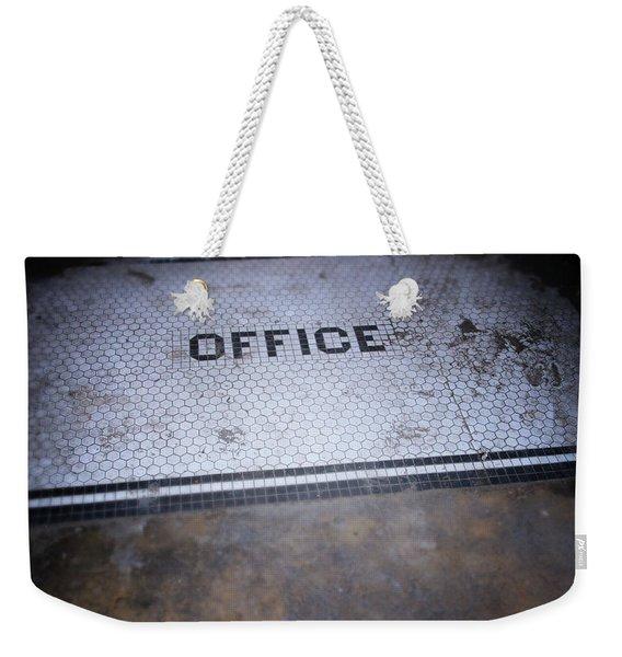 Old Office- Urban Photography By Linda Woods Weekender Tote Bag