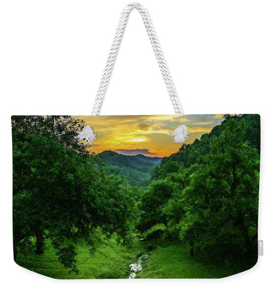 Old Orchard Glow Weekender Tote Bag