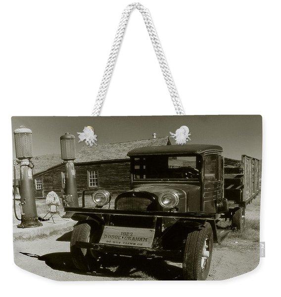 Old Pickup Truck 1927 - Vintage Photo Art Print Weekender Tote Bag