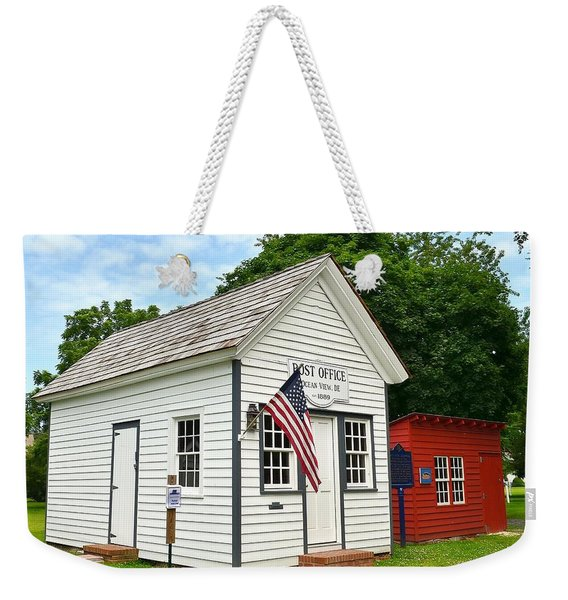 Old Post Office - Ocean View Delaware Weekender Tote Bag