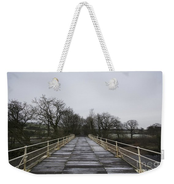 Old Railway Bridge Weekender Tote Bag