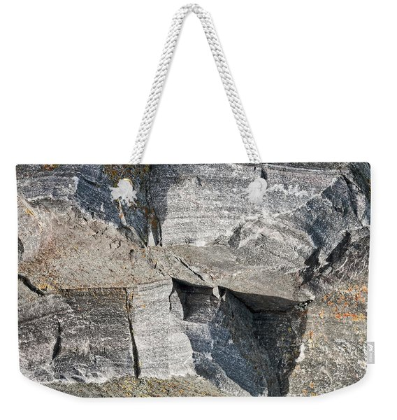 Old Rock Background Weekender Tote Bag