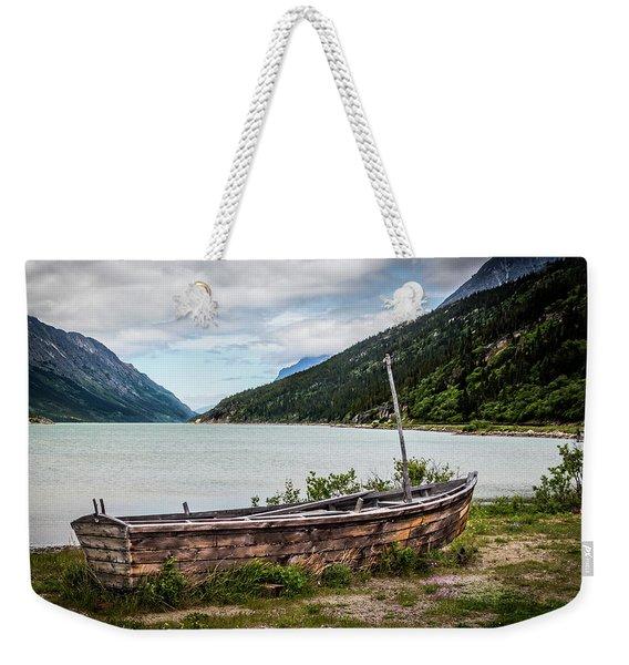 Old Sailboat Weekender Tote Bag